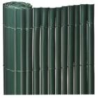 ROLLO 1.5X5mts CAÑIZO PVC SIMPLE CARA VERDE