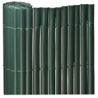 ROLLO 2X5mts CAÑIZO PVC SIMPLE CARA VERDE